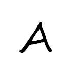 Herbář písmeno / znak A