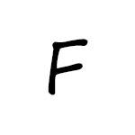 Herbář písmeno / znak F