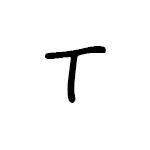 Herbář písmeno / znak T